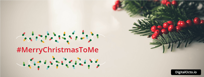 #MerryChristmasToMe - Awesome Christmas Facebook Cover Designs