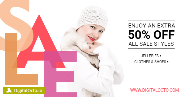 50% sale on clothes