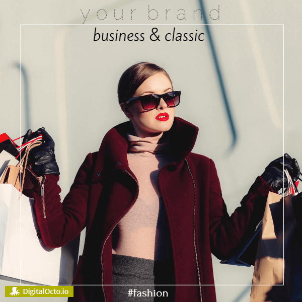 Fashion: business and classic models design