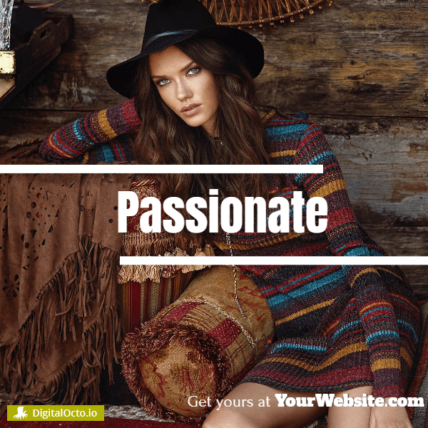 Fashion passionate - templates for fashion and online stores
