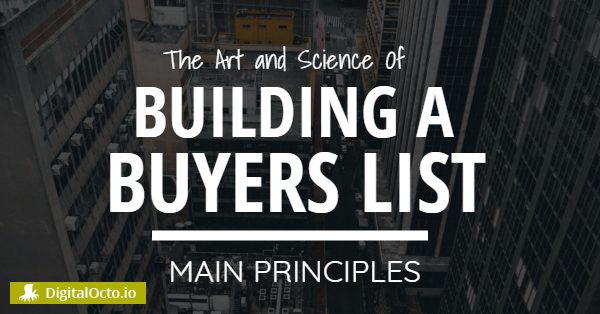 Building a buyer list