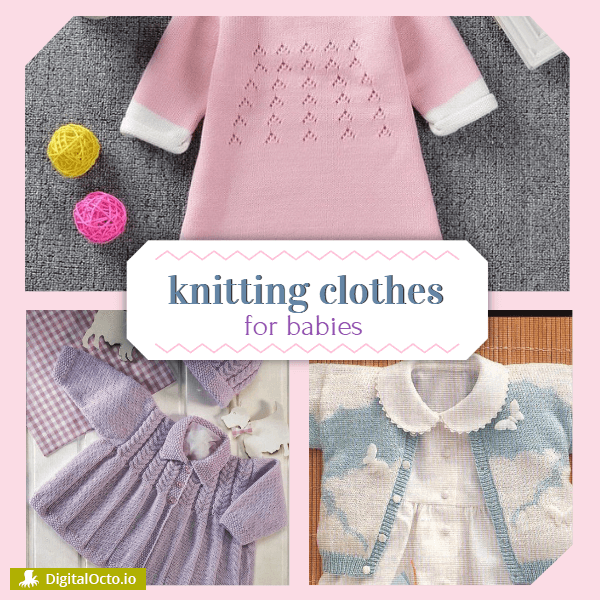 Knitting Clothes for Babies Template