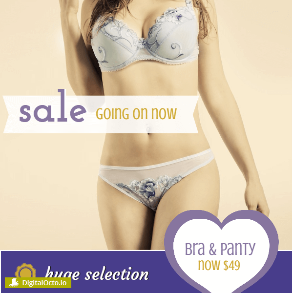 Lingerie Boutique Sale