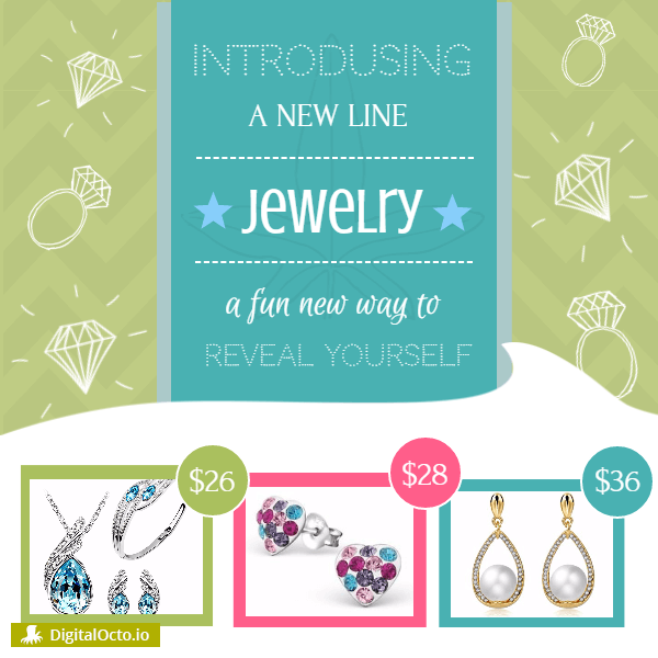 New line of jewelry