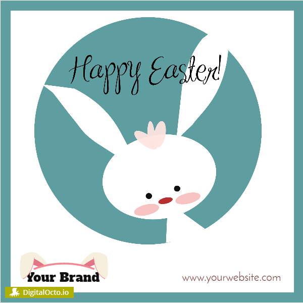 Happy Easter – Bunny design