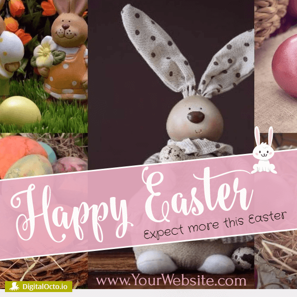 Happy Easter - expect more this Easter