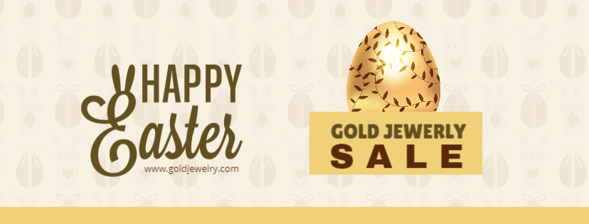 Easter Gold Jewerly sale