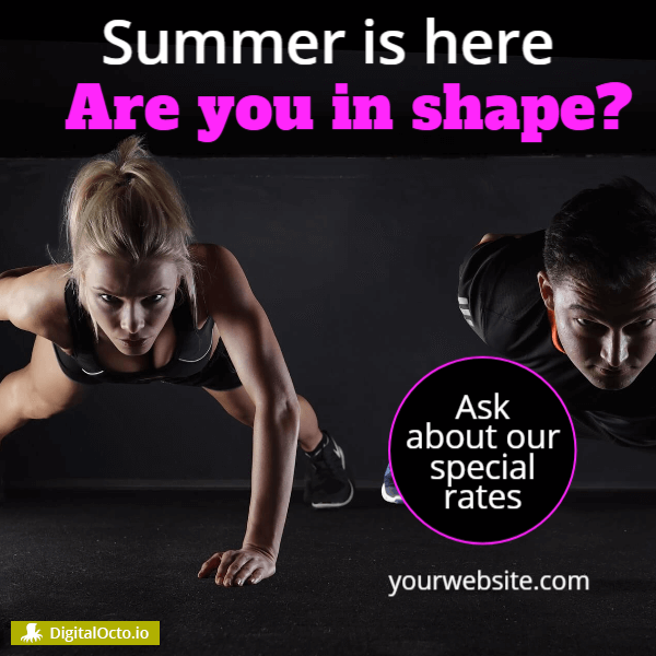 Fitness - are you in shape
