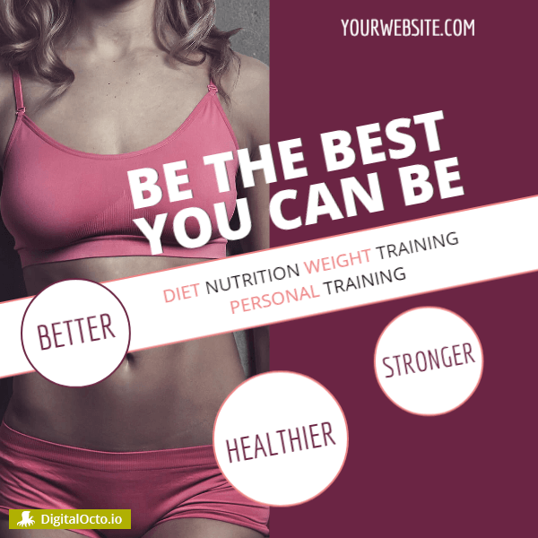 Fitness – be the best you can be