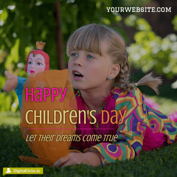 Happy Children's day dreams