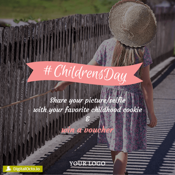 Hashtag Children's day – win a voucher