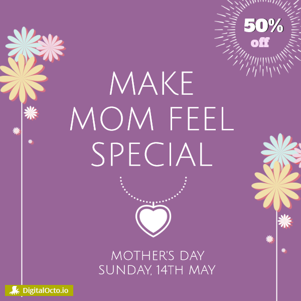 Make your mom feel special
