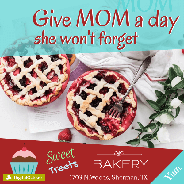 Give your mom a day she won't forget