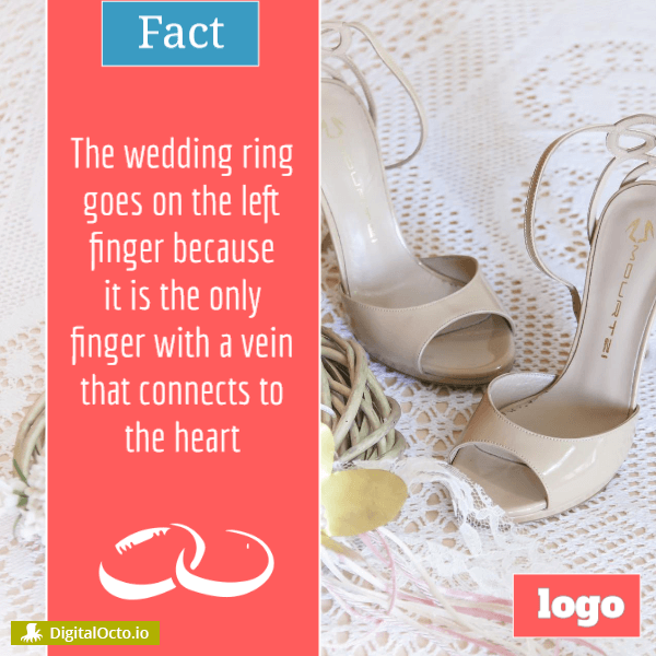 Fact: why wedding ring goes on the left finger