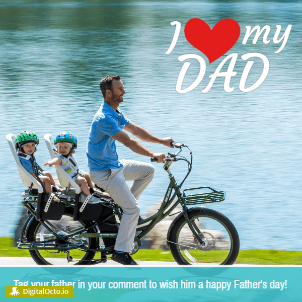 Father's day: I love my dad