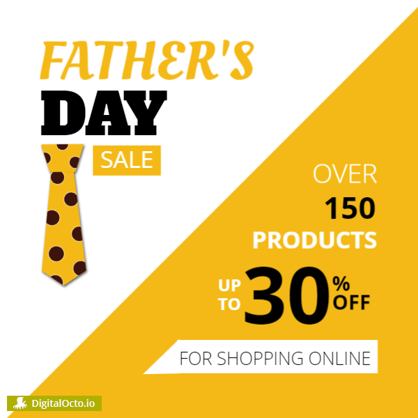 Fathers day sale – up to 30% off
