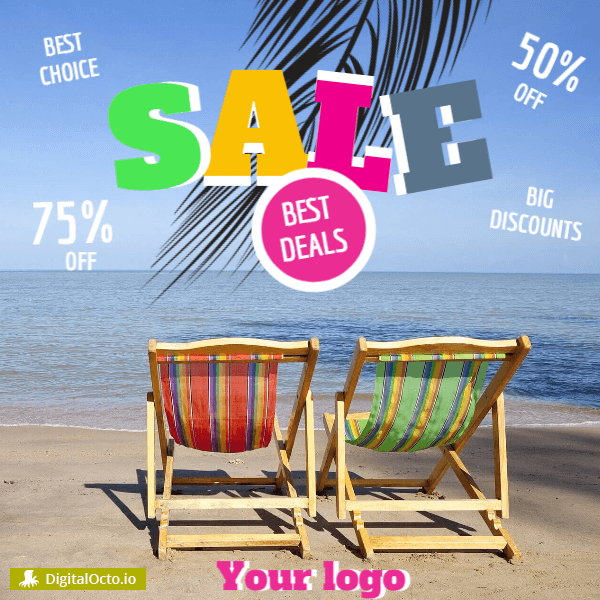 Summer sale - big discounts