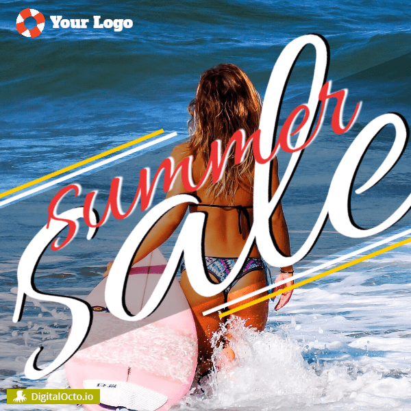 Summer sale - water sports