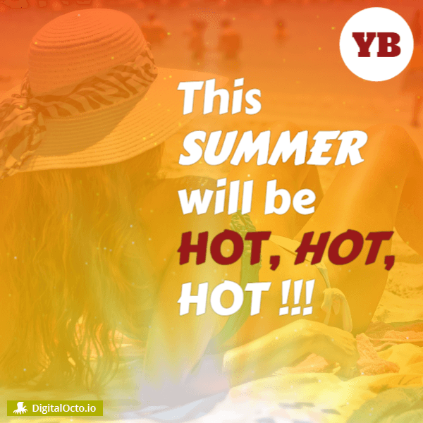 This summer will be hot