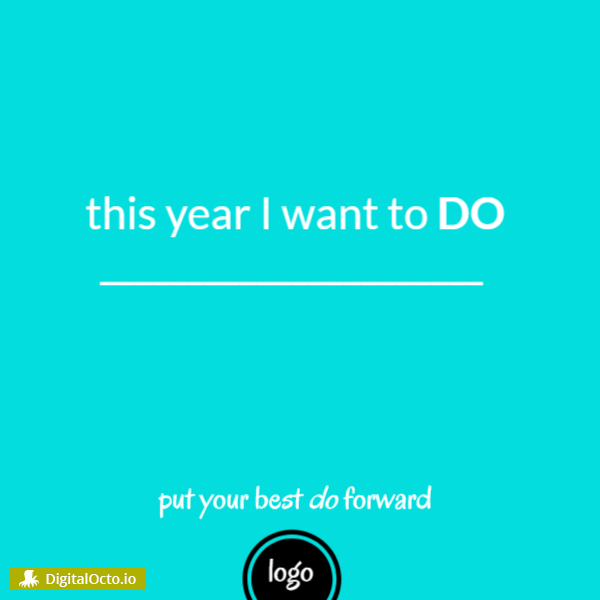 This year I want to do ….