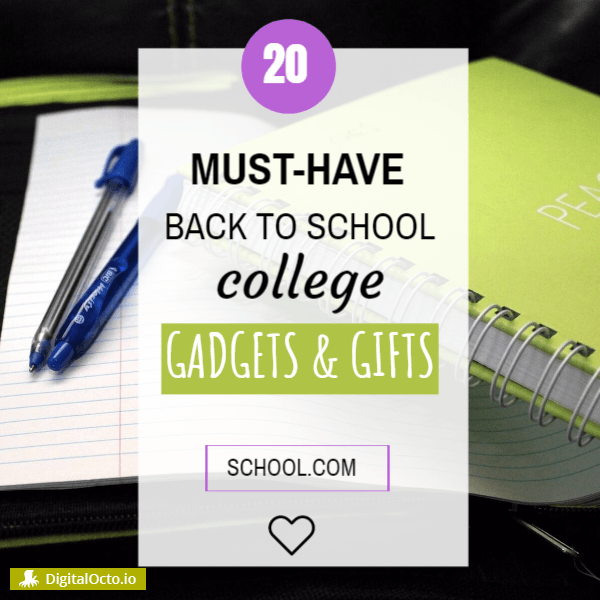 20 back to school college gifts