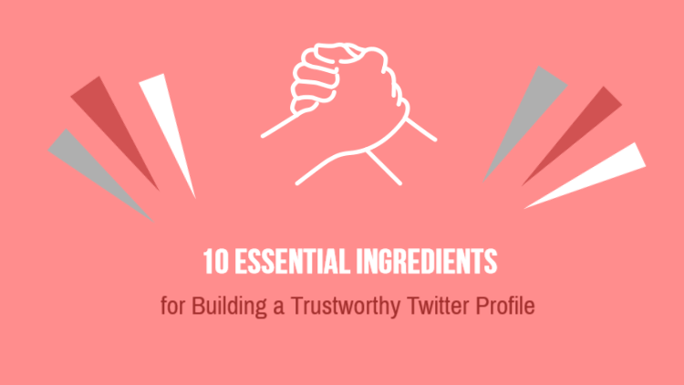 Essential Ingredients in Building a Trustworthy Twitter Profile