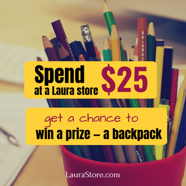 Back to school share offer contest