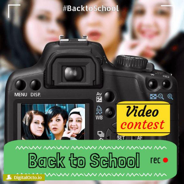 back to school video contest