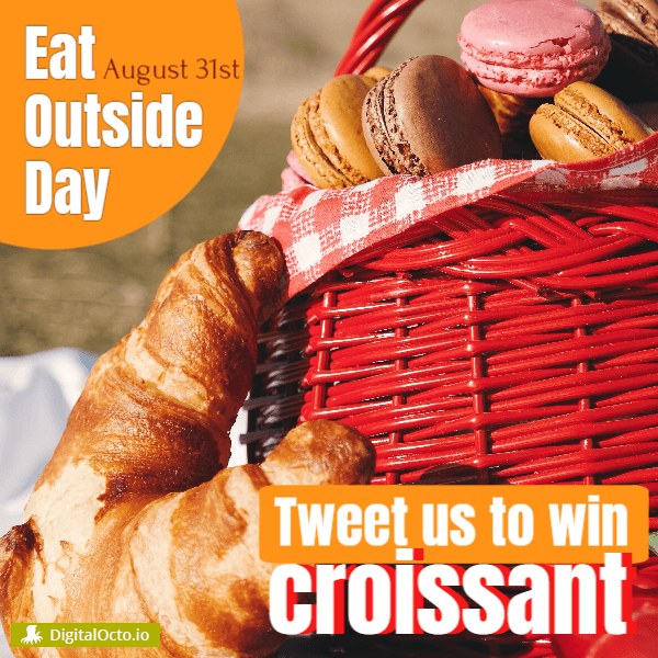 Eat Outside Day – contest