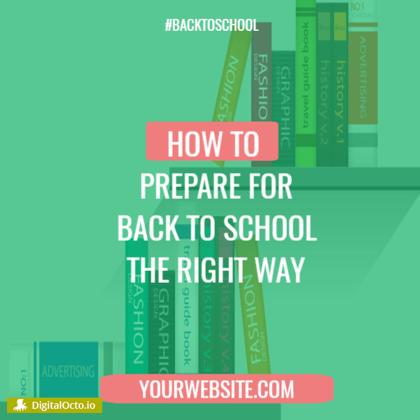 How to prepare for back to school season