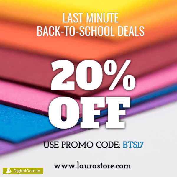 Last minute back to school deals