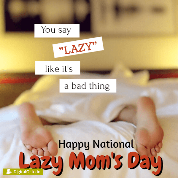 Lazy is a good thing