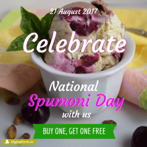 National Spumoni Day