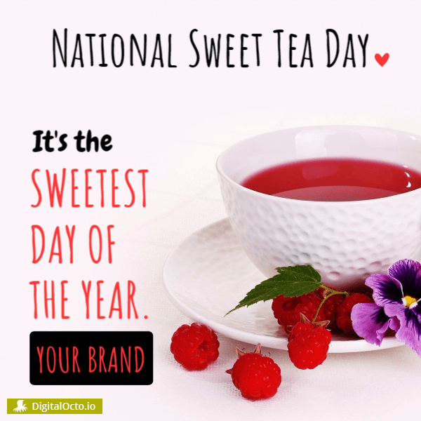 National Sweet Tea Day