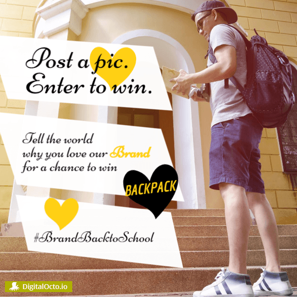 Back to school contest Tell the world why you love us