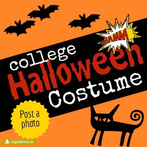 College halloween costume