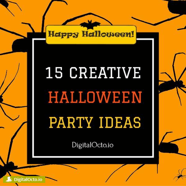 creative halloween party ideas