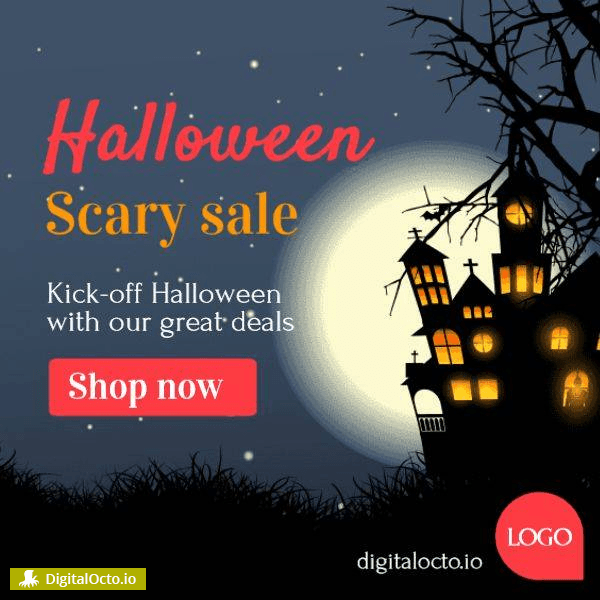 Halloween scary sale