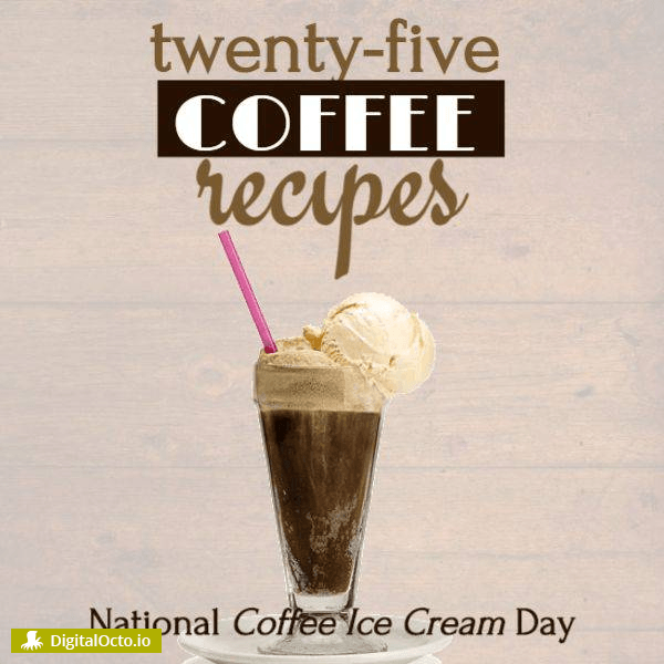 National Coffee Ice Cream Day – recipes