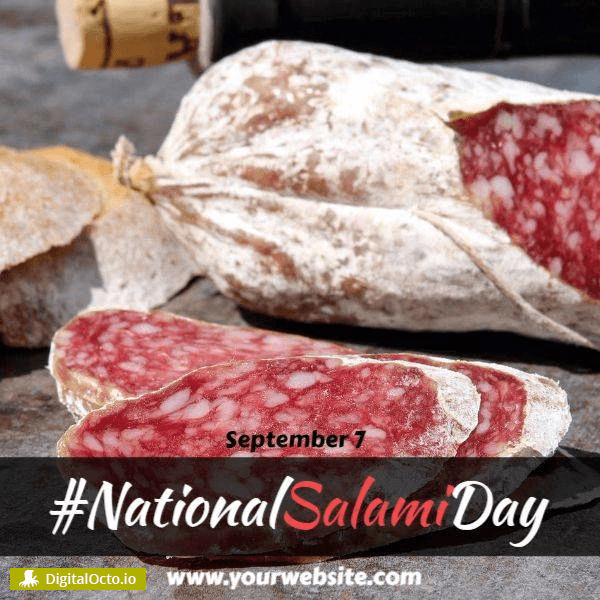 National Salami Day hashtag