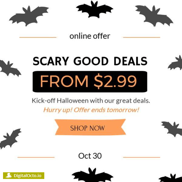 Scary good deals