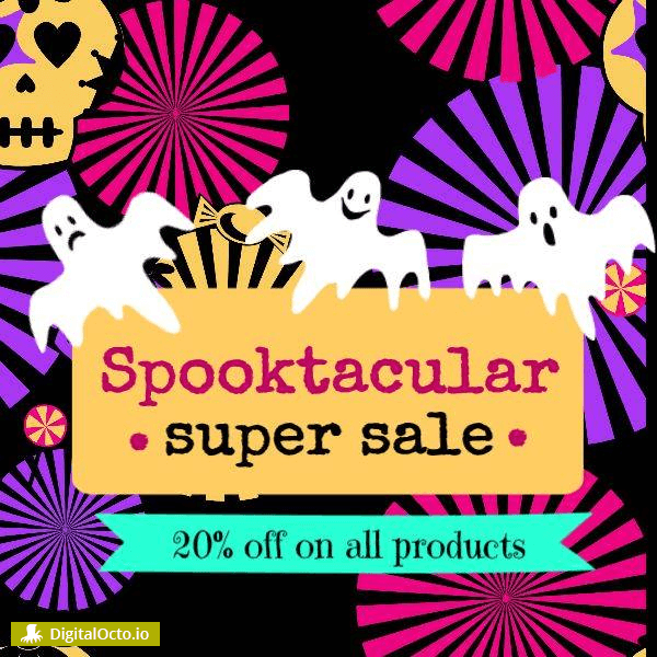 Spooktacular super sale