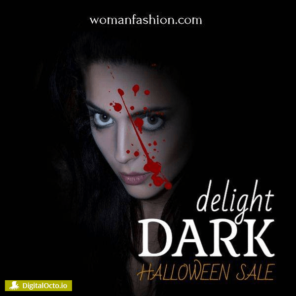 Dark delights – halloween sale
