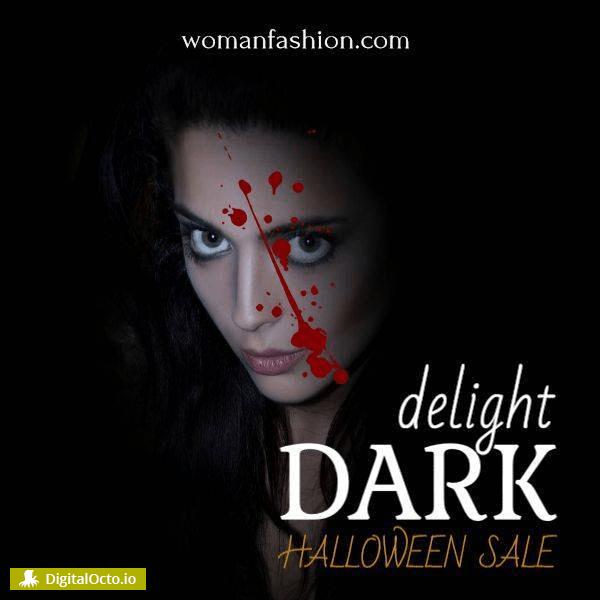 dark delights - halloween sale
