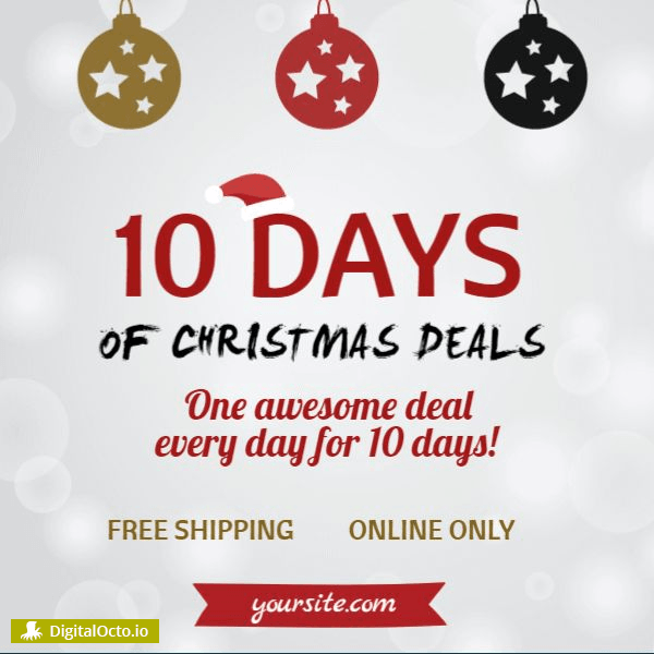 10 days of christmas deals