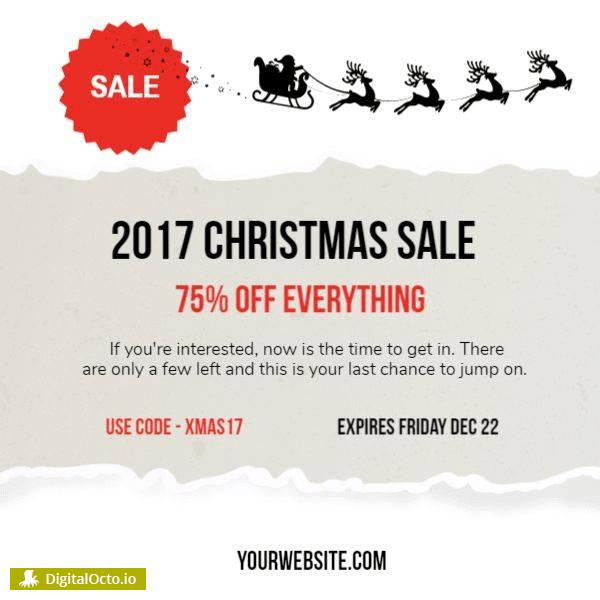 2017 Christmas sale