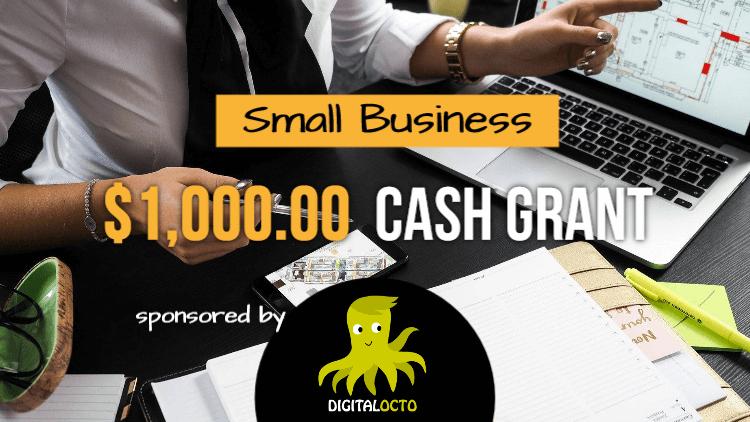 DigitalOcto sponsor small business grant
