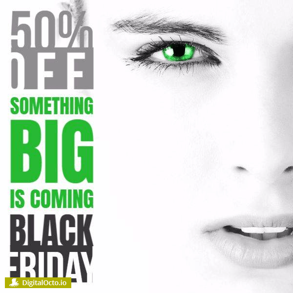 Black friday big sale woman