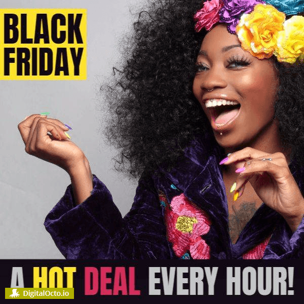 Black friday hot deal every hour