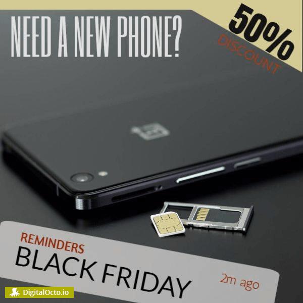 Black friday phone discount